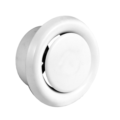 Photo of product Bouche de ventilation, en plastique couleur blanc